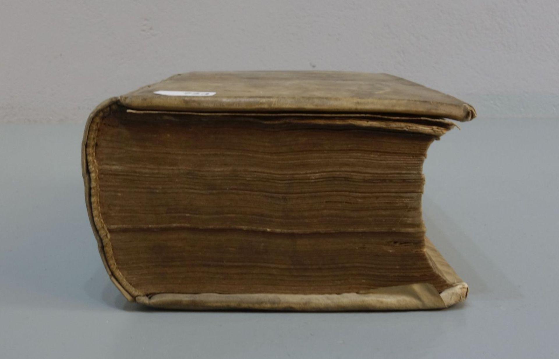 BUCH VON 1731 - Bild 2 aus 3