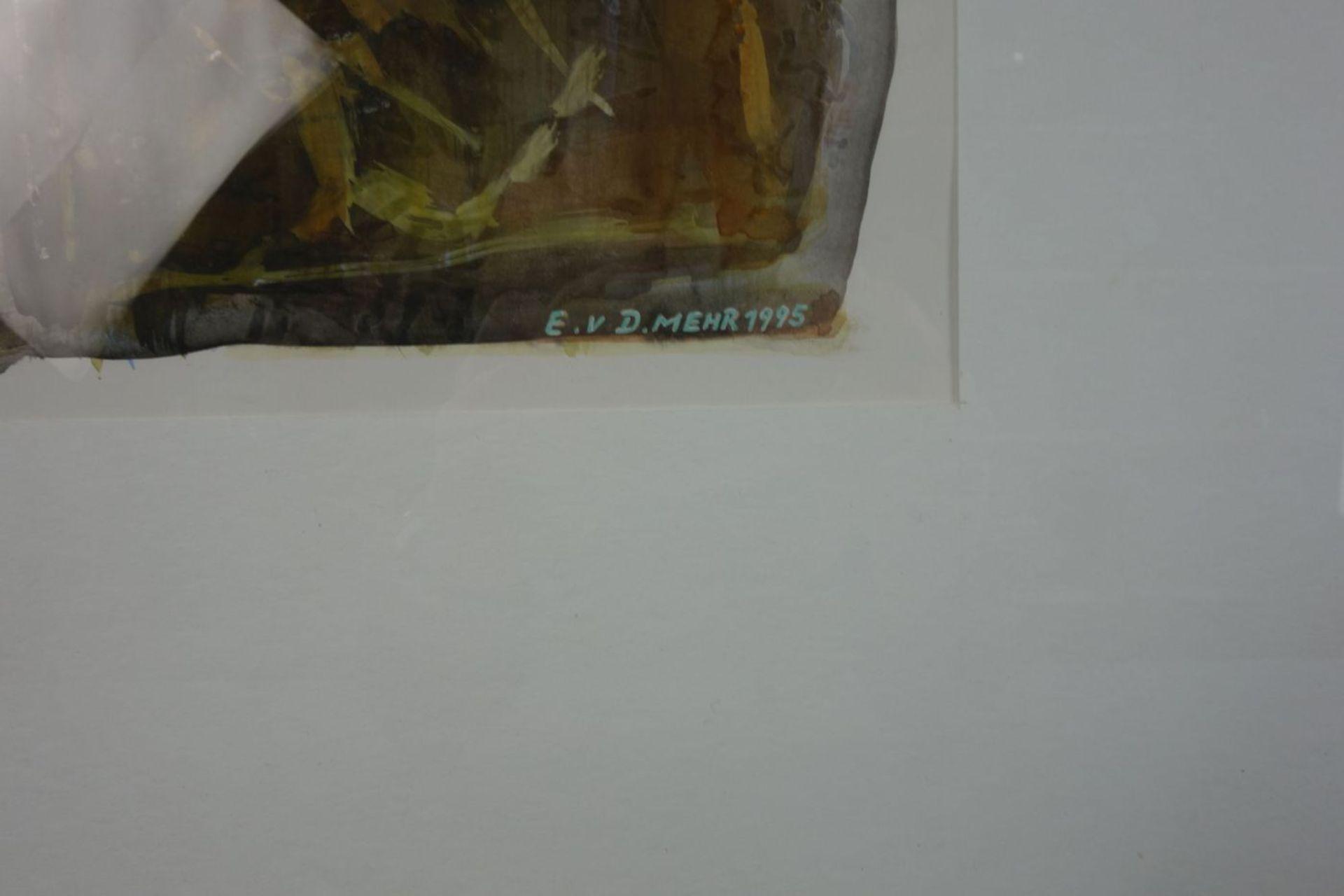 E. V. D. MEHR - GOUACHE - Bild 2 aus 3