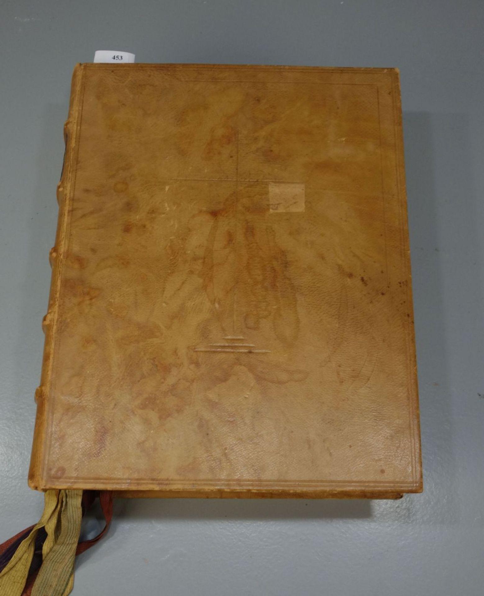 BIBEL IM LEDEREINBAND - Bild 2 aus 8