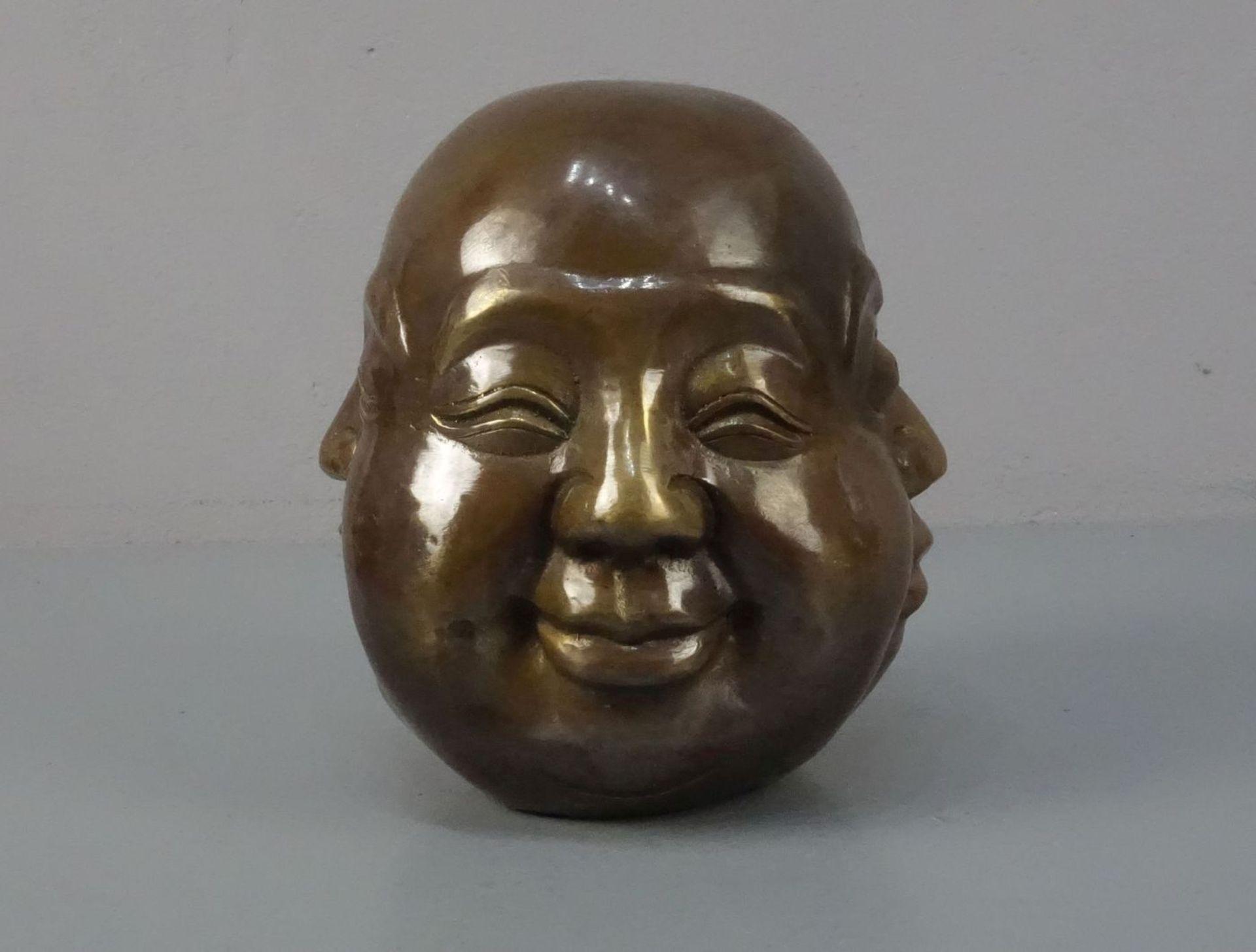 BUDDHA - KOPF MIT VIER GESICHTERN