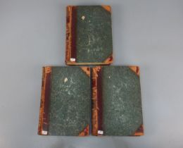 KONVOLUT BÜCHER VON 1899-1905: The Flowering Plants (Bd. 1-3)