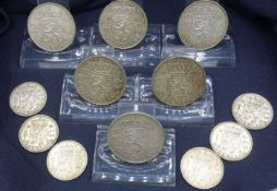 CONVOLUTE COINS (Netherlands 1954-1961)
