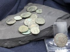 BYZANTINE AND ROMAN COINS