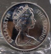 SILVER COIN: ENGLAND 1973