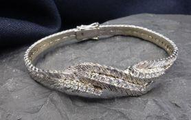 Bracelet - 585 white gold