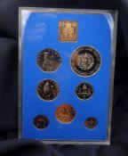 COURSE COIN SET: ENGLAND / NORTHERN IRELAND 1972