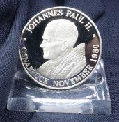 MEMORIAL COIN: POPE JOHN PAUL II.