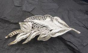 Brooch, 20th century, 925 silver