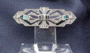 Silver brooch, 1st half of the 20th century