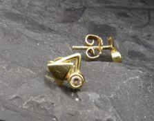 EARPLUG - 333 yellow gold