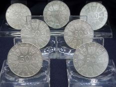 CONVOLUTE: 50 and 100 shillings