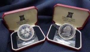 MEMORIAL COINS: ELIZABETH 1976 AND 1977