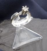 SOLITE RING - 585 white gold