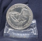 """AMERICAN SILVER MEDAL """"ENGELHARD THE GOLD SEARCHER"""""""