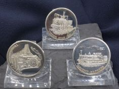 SILVER COINS: HISTORY OF THE RAILWAY
