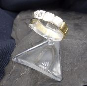 BICOLOR RING - 585 gold