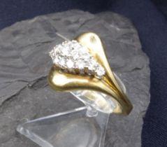 BRILLANT RING - 750 yellow gold