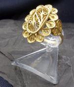 GOLDRING - 750 yellow gold
