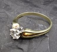 SOLITE RING - 585 yellow gold