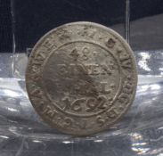 COIN OF 1692: 48 One Thaler