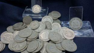 COINS: 5 REICHSPFENNIG / 10 REICHSPFENNIG