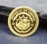 GOLD COIN - 10 DOLLAR, 999/1000