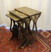 4 CHINOISE SIDE TABLES