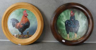 """FRANZ TRÜMPER - TWO PAINTINGS: """"CROWING MARAN'S HAHN"""" and """"INDIAN FIGHTER"""