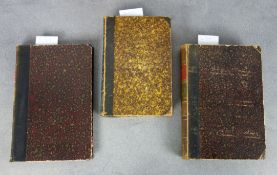 COLLECTION OF THREE TECHNICAL BOOKS OF THE 19TH CENTURY