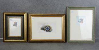 TRÜMPER, FRANZ (Gronau 1941-2021 Enschede NL), three gouaches / watercolours