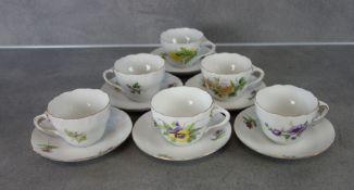 6 COFFEE  OR TEA CUPS