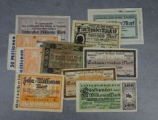 """BUNDLE OF VOUCHERS AND """"NOTGELD / SPARE MONEY OF THE CITY OF BOCHUM"""