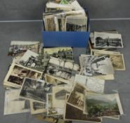 LARGE CONVOLUTION OF POSTAL CARDS / VIEW CARDS