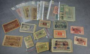 LARGE BUNDLE OF LOAN NOTES / PAPER MONEY / BANKNOTES