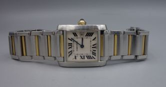 CARTIER LADIES'S WATCH - TANK FRANCAISE