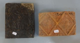 CLASSICISM TILE AND ROCOCO WALL TILE WITH RELIEF
