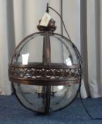 BRONZE LANTERN / CEILING LAMP
