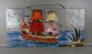"TILE PICTURE ""SAILING SHIP"""