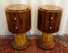 SIDE TABLES IN ART DECO STYLE