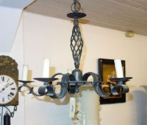 HAND FORGED LAMP