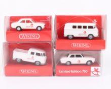 Vier Wiking Sondermodelle