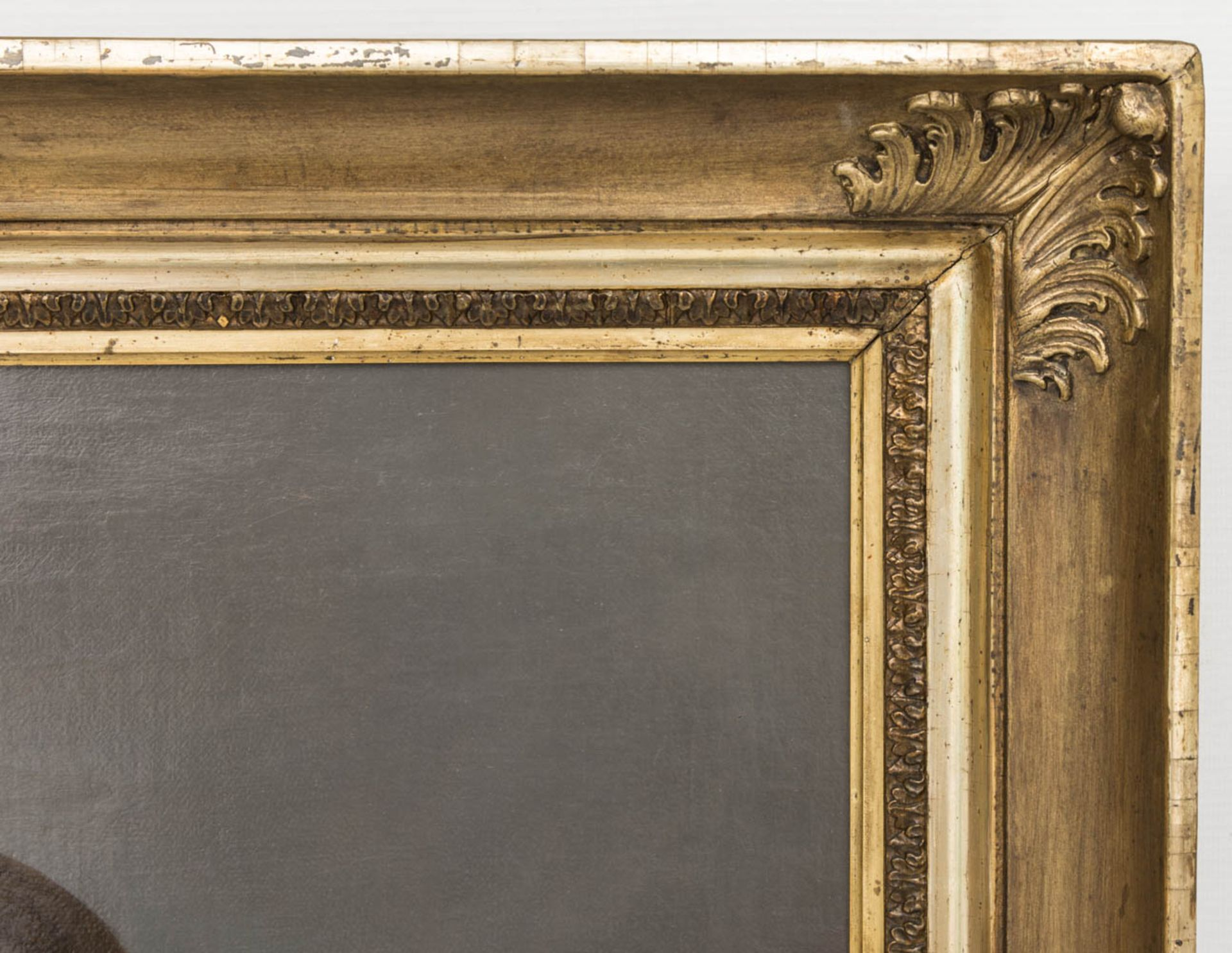 Johann F. A. Tischbein, Portrait eines Knaben, Öl auf Leinwand, 18. Jh.Gerahmt, nicht - Bild 3 aus 4