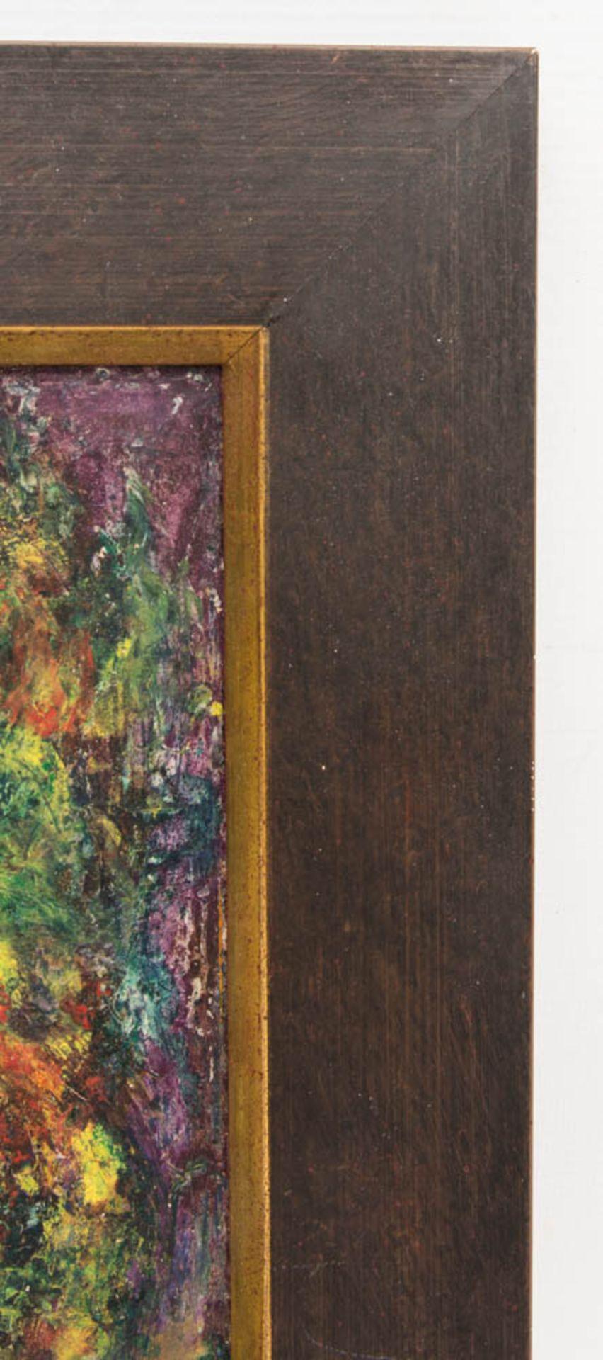 Abstrakte Komposition, Mischtechnik auf Platte 21. Jh. - Bild 4 aus 5