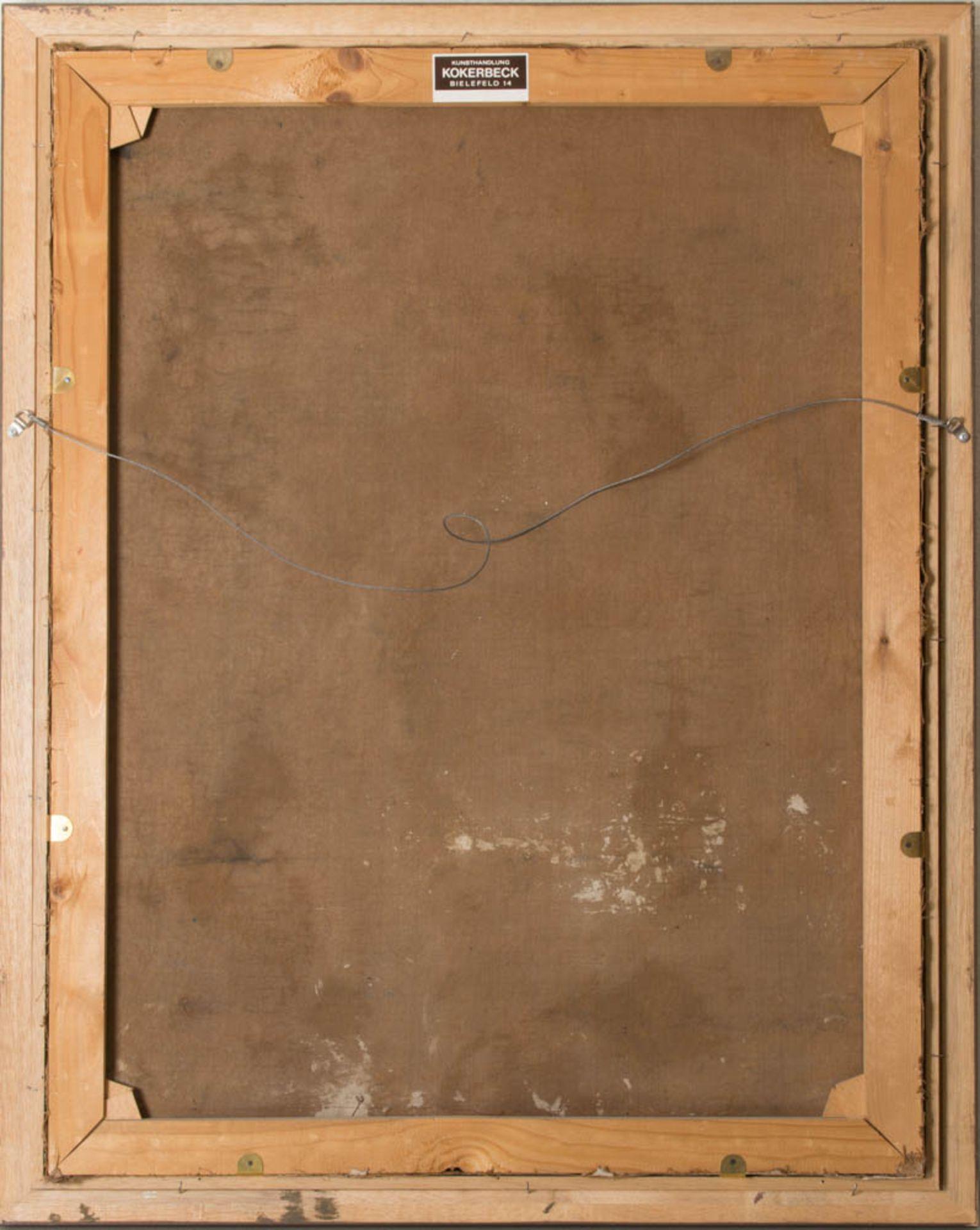Georg Waltenberger, Damenportait, Öl auf Leinwand, Deutschland 20. Jh.Unten rechts si - Bild 3 aus 3