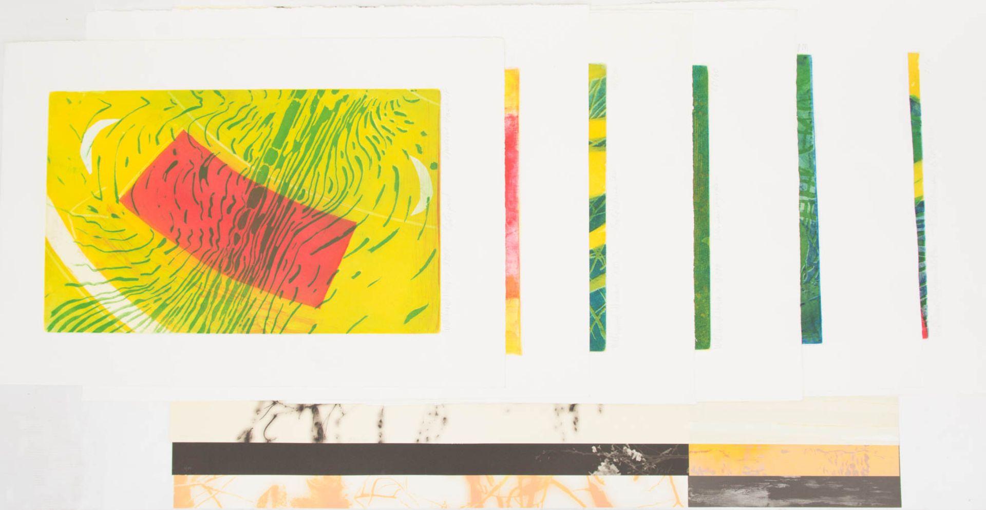 Willibrord Haas, 6 Original Radierungen, Deutschland 20. Jh.Willibrord Haas (1936).<br