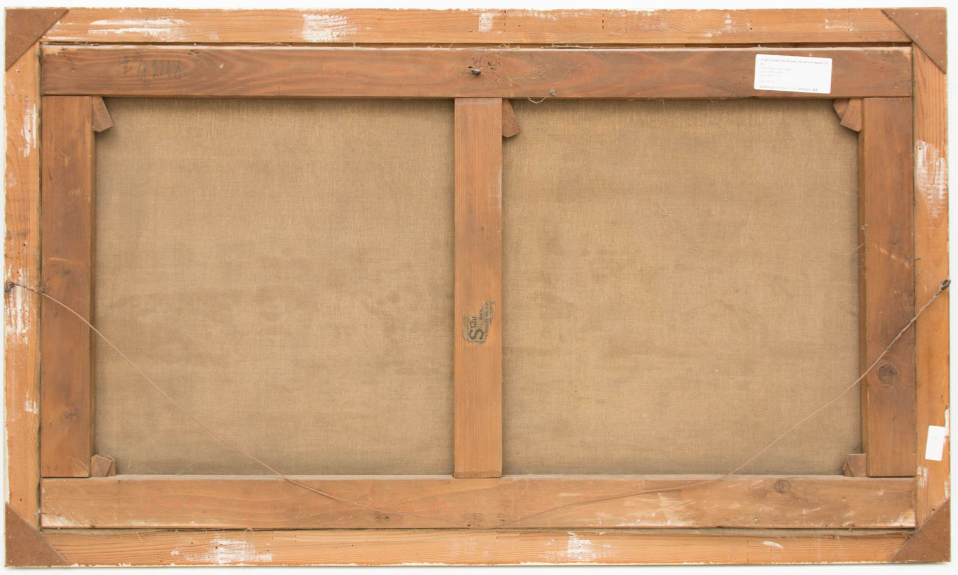 Franz Frankl, Die Brücke, Öl auf Leinwand, 20. Jh.Franz Frankl (1881 - 1940).Unt - Bild 4 aus 4