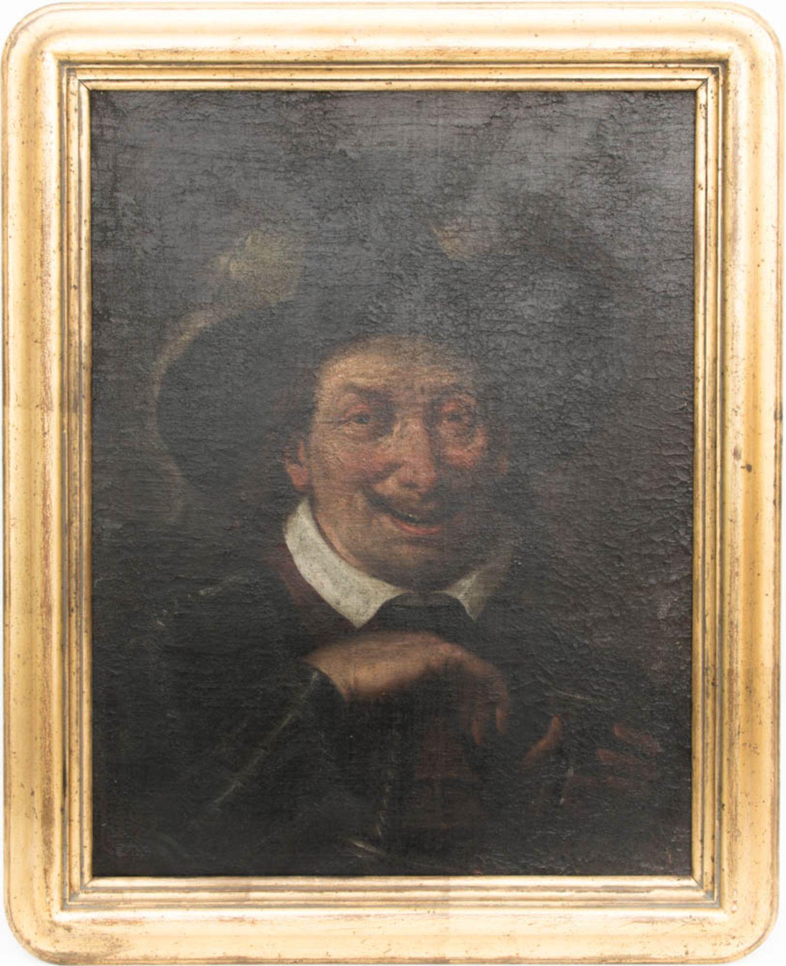 Rembrandt Stil, Der Trinkende, Öl auf Leinwand, um 1700.