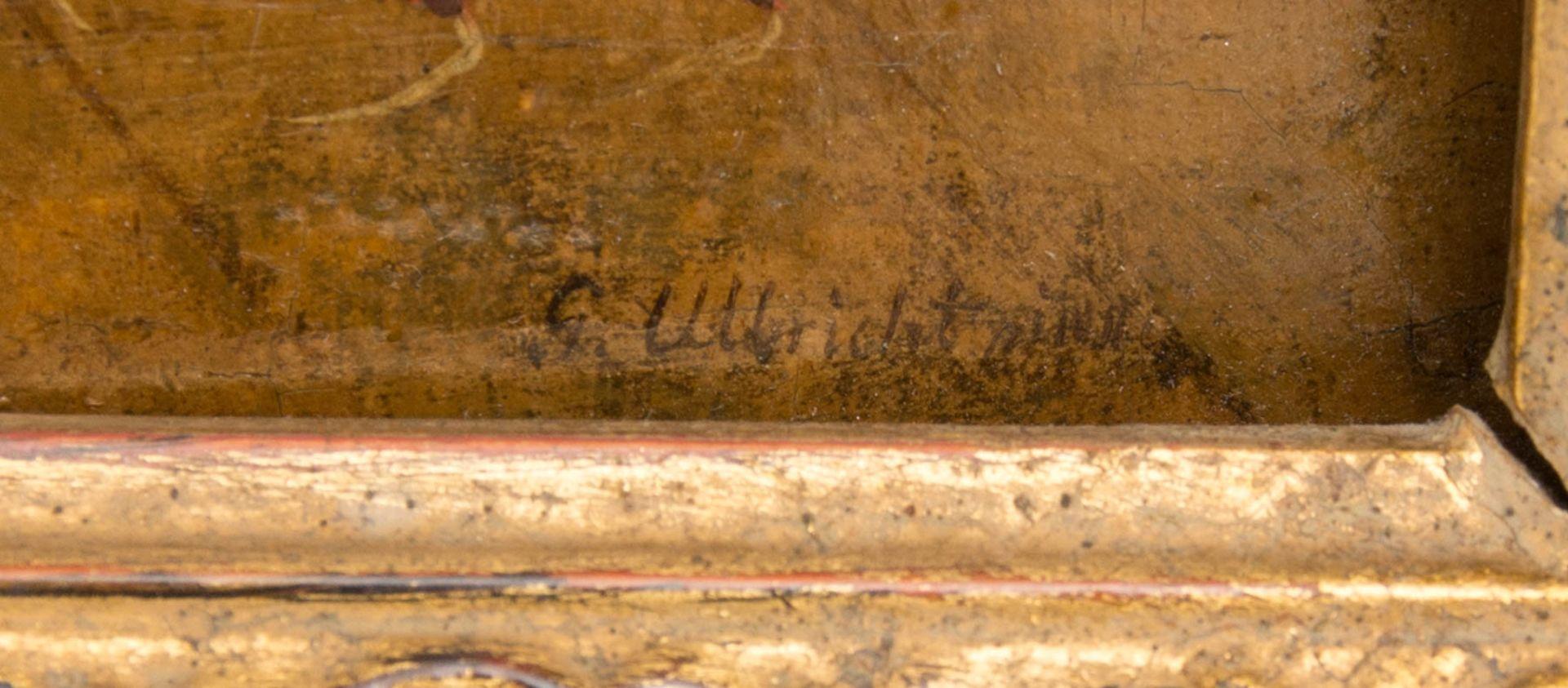 Johann Phillipp Ulbricht, Paar humorvolle Szenen, Öl auf Holz, Mitte 18. Jh. - Bild 5 aus 12