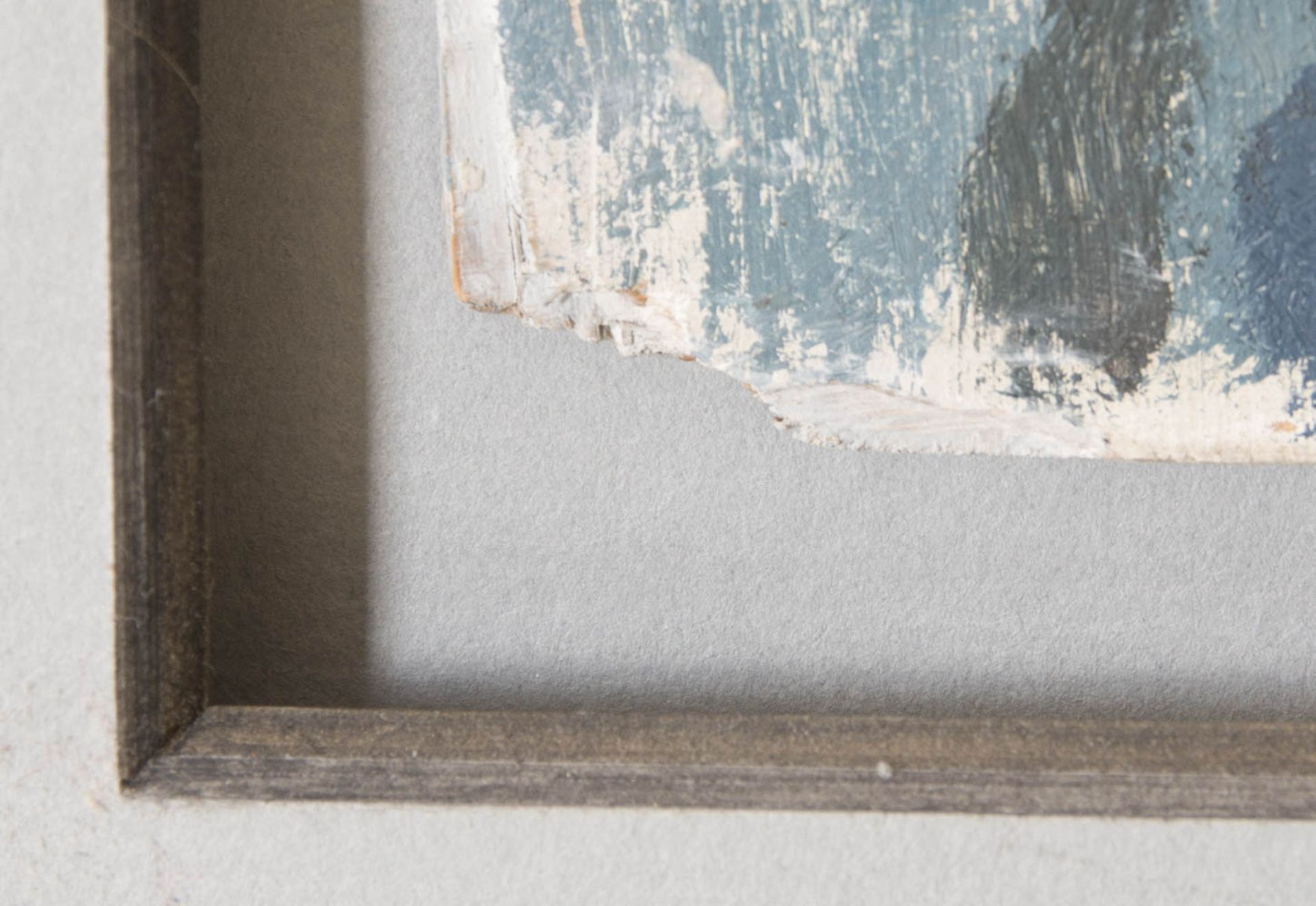 Monogrammiert IK, Frauenportait, Pastell auf Karton, 20. Jh.Wunderschön gerahmt, link - Bild 3 aus 4