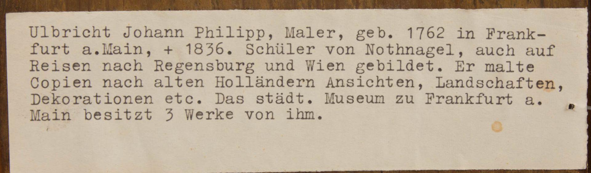 Johann Phillipp Ulbricht, Paar humorvolle Szenen, Öl auf Holz, Mitte 18. Jh. - Bild 9 aus 12